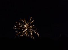 Fireworks Near Mars (John Kocijanski) Tags: fireworks nightsky night mars astronomy canon1740mmllens canon5dmkii longexposure