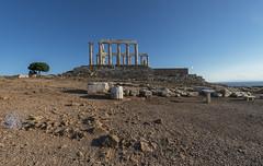 """Sounion: Poseidon's Temple – VII (Egisto Sani) Tags: sunio anatolikiattiki attica grecia """"poseidon temple"""" """"tempio di poseidone"""" """"doric dorico"""" """"high classical period"""" """"cape sounion"""" """"capo sunio"""" attic order"""" """"ordine"""