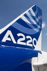 A220 tail (Martyn Cartledge / www.aspphotography.net) Tags: a220300 aero aeroplane air airbus aircraft airfield airline airliner airplane airport aviation civil flight fly flying jet plane tails tls toulouseblagnac transport wings wwwaspphotographynet asp photography aspphotography flywinglets