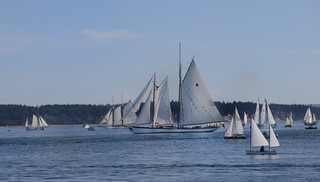 Big Historic Schooners at the Sail By