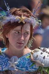 Mermaid Costume (Scott 97006) Tags: woman costume outfit female lady mermaid shells pretty redhead beauty creative