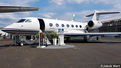 Gulfstream G500 (jakobwert) Tags: airplane aircraft airport airshow aviation avgeek farnborough fia18 fia2018 fia sunny display testaircraft jet business businessjet gulftstream aerospace g500 private qatar executive n511gd