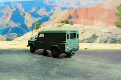 1:76 Scale Diecast Model British Military Land Rover Defender By Oxford Diecast Limited Swansea Wales United Kingdom 2017 : Diorama Arizona Scene - 3 Of 17 (Kelvin64) Tags: 176 scale diecast model british military land rover defender by oxford limited swansea wales united kingdom 2017 diorama arizona scene