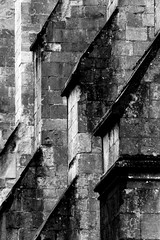 Cathedral details (jane not janet) Tags: blackandwhite monochrome history architecture stone cathedral ancient old repetition diagonal tile