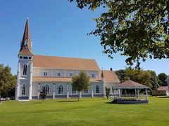 Day 6 - Church at Miscouche (Bobcatnorth) Tags: princeedwardisland canada summer 2018 pei cycling bicycle touring bicycletouring camping sightseeing