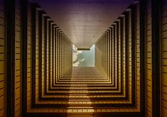 On a sunny Day - Hongkong 188/188 (*Capture the Moment*) Tags: 2017 architektur atrium estate fenster hauses hochhäuser hongkong häuser innenhof intothesky sky skyscraper sonya7m2 sonya7mark2 sonya7ii sonyfe1635mmf4zaoss sonyfe41635 sonyilce7m2 windows indenhimmel