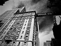 West 36th (Professor Bop) Tags: professorbop drjazz olympusem1 nyc newyorkcity manhattan urban city blackandwhite bw mosca