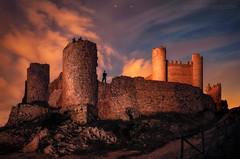 xivert (el_farero) Tags: alcaladexivert xivert castle lightpainting nightshot castellon spain clouds farero minimalism fotografianocturna canon