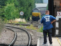 Casual observations (simonjohn4) Tags: waterortonrailwaystation trainspotter trainspotting class67 67027
