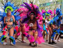 Don't Panic! (Kurayba) Tags: edmonton alberta canada cariwest parade festival fete party dancer women dancing dance costume costumes pentax k1 dfa 2470 f28 wr jasper ave avenue 107 street caribbean carnival hdpentaxdfa2470mmf28edsdmwr boots tongue out