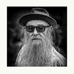 Car Dude (Jim-Mooney) Tags: bw black white blackwhite blackandwhite mono monochrome monotone streetphotography people portrait candid kansascity west bottoms fuji xt2 fujinon50140mm square