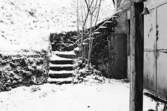 Chioé, frazione di Lamon (BL) (ma.ri_na) Tags: nikonfm2 pellicola film inverno winter scala neve chioé