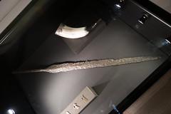 Viking spearhead (quinet) Tags: 2017 canada ontario rom royalontariomuseum toronto vikings 124