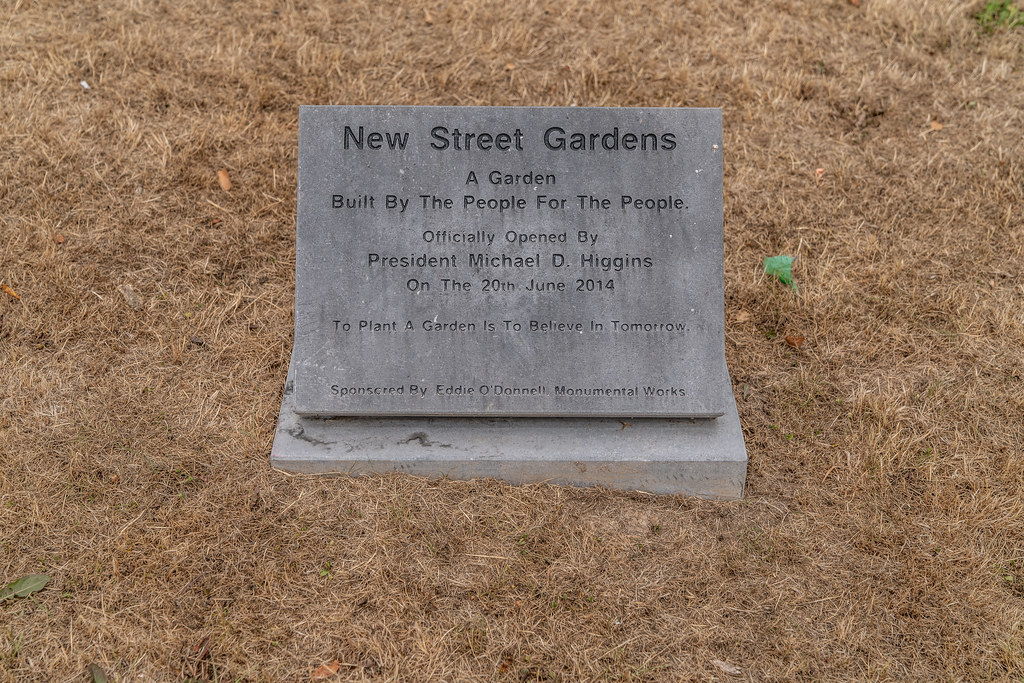 NEW STREET GARDEN WATERFORD [IT WOULD APPEAR THAT THE ENTHUSIASM HAS DISSIPATED]-142525
