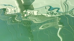 Water 455 (yanomano_) Tags: dance reflecting mirroring ship mar yanomano waterfilm water barco verde azul marina mallorca palma