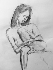 Wild Goose #lifedrawing 8.1.18 (Howard TJ) Tags: wildgoose ohio columbus life female pencil watersolublegraphite study drawing figure figurestudydrawingwildgoosefemalepencilwatersolublegraphitecolumbusohio lifedrawing