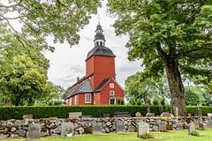 Habo Church (JnHkstr) Tags: 2018 begraafplaats habo jonkopingslan sverige sweden vakantie2018 zweden church kerk