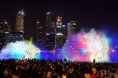 20180720-079-Marina Bay Sands light show (Roger T Wong) Tags: 2018 asia marinabaysands rogertwong sel2470z singapore sony2470 sonya7iii sonyalpha7iii sonyfe2470mmf4zaosscarlzeissvariotessart sonyilce7m3 fountain laser lights night projection show travel