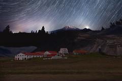 From Iceland. (Tóta. 27.12.1964.) Tags: landscape mountain oldhouses grass sky trees iceland ísland