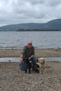 Loch Lomond. Rocky Selfy