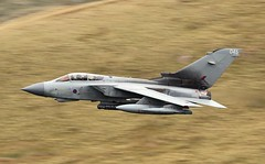 MONSTER FLIGHT (Dafydd RJ Phillips) Tags: panavia tornado gr4 loop mach marham air base force royal raf low level military aviation slow shutter motion canon 1dx2