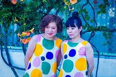 In Matching Dress (moaan) Tags: nara japan jp people woman matchingdress souvenirpicture travel trip focusonforeground selectivefocus depthoffield bokeh bokehphotography canon canonphotography canoneos5dsr ef70200mmf28lisiiusm utata 2018