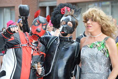Gay Pride Antwerpen 2018 (O. Herreman) Tags: antwerpen belgium gaypride pride homo biseksueel europride feest straatfeest outdoor stad party mensen toeristen schelde city friends people homoemancipatie europe centrum centre center parade lgbt freedom liberty rights droits gay civilrights festa fête coc pridematters lovewins crowd happy antwerp anvers holebi antwerppride prideantwerp streetparty festival fest travestiet transsexueel transvestite transsexual transgender sexy boys sexyboys kinky badpuppy dogmask antwerppride2018 leather leder puppymask belgie belgique