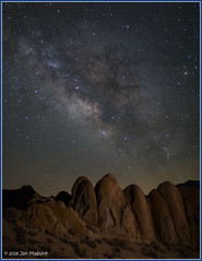 Up Up and Away 0564 (maguire33@verizon.net) Tags: california easternsierra lll milkyway galaxy lowlevellighting stars