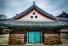 (Dubai Jeffrey) Tags: bongeunsa buddhist building korea seoul spring temple wood