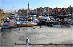 Veere, Walcheren, Zeelande, Nederland (claude lina) Tags: claudelina nederland hollande paysbas zeelande zeeland veere part haven boat maisons houses