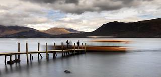 'Life's A Blur', High Brandlehow Pier, Derwentwater, Lake District