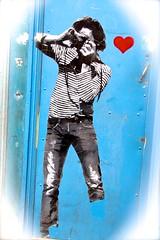 PARIS collage  « SUR LES MURS DE LA VILLE (closier.christophe) Tags: christopheclosierphotos christopheclosierparis parisphotos paris collage murs streetart