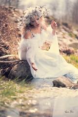 "TEATRONATURA ""Il Disgelo"" (valeriafoglia) Tags: model makeup magic photo photography portrait pretty creative composition colors capture creature stylist spirit nature nymph light lights beautiful beauty fantasy fairy forest ethereal"
