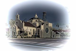 Christ Episcopal Church, 18 W Wright Street, Pensacola, Florida, USA / Built: 1903 / Consecrated: 1917 / Architect: John Sutcliffe / Architectural Style: Spanish Renaissance