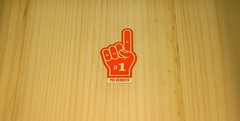 A wooden 1 (Francesco Pesciarelli) Tags: wooden hand finger numberone mostsold propaganda 1 one minimal impromptous flickr pesha colours