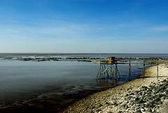 Port des Barques - FRANCE (manguybruno) Tags: water sky cabane paysage landscape mer sea océan