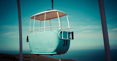 No 39 (Emma Yeardley) Tags: cablecars flyinghigh no39 vintage llandudno wales coast sky views summer sunshine seaside ocean sea nikon d7500 greatorme blue 7dwf