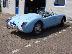 1960 MG MGA (Skitmeister) Tags: dr4132 carspot nederland skitmeister car auto pkw voiture