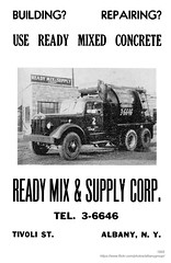 1955 ready mix & supply company (albany group archive) Tags: albany ny history 1955 ready mix supply company concrete tivoli street 1950s old vintage photos picture photo photograph historic historical