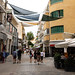 Shopping street in Nocosia Cyprus