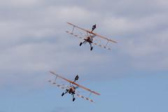 DSC_9558 copy (quintinsmith_ip) Tags: aerosuperbatics flyingcircus 'superstearmans stearmans plane formation flight smoke smoking orange white wingwalkers sunderland 2018