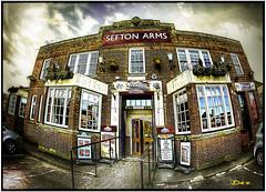 SEFTON ARMS (DEZ 2) Tags: fisheye sefton arms west derby village hdr liverpool history buildings samyang 8mm