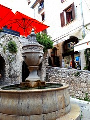 cute little corner (angelinas) Tags: provence france stpauldevence waterfountain picturesque europe villages streets frenchriviera voyages traveling travelphotography