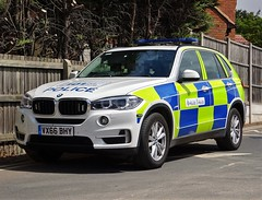 Warwickshire and West Mercia Police BMW X5 Armed Response Vehicle, VX66 BHY. (Vinnyman1) Tags: warwickshire west mercia police bmw x5 operational patrol unit armed response vehicle arv vx66 bhy opu afo authorised firearms officer anpr automatic number plate recognition cctv closed circuit television enabled rugby rpu roads policing emergency services service rescue 999 england uk united kingdom gb great britain