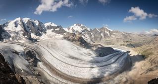 Persgletscher Panorama