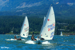2018 Laser Pacific Coast Championship-6940 (SailingPDX) Tags: 2018 august bridgeofthegods columbiagorgeracingassociation columbiariver laser oregon saturday racing sail sailboat