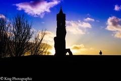 Edinburgh & St Andrews-38 (Simon King 74) Tags: canon canon7d kingphotographic lightroom scotland wwwkingphotographiccom standrews cathedral ruins silhouette bird clouds