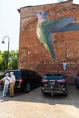 20180805 021 VT Mary Lacy Murals (scottdm) Tags: 2018 art august birthday burlington family lacy martyn summer usa vt vermont wwwmarylacyartcom unitedstates hummingbird
