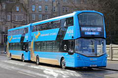 SA15 VTL, Waverley Bridge, Edinburgh, March 1st 2016 (Southsea_Matt) Tags: sa15vtl 432 route100 airlink volvo b9tl wright streetdeck waverleybridge march 2016 spring edinburgh lothian scotland unitedkingdom canon 60d sigma 1850mm transport bus omnibus vehicle
