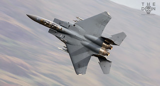 F-15E of 492d 'Bolars' low level